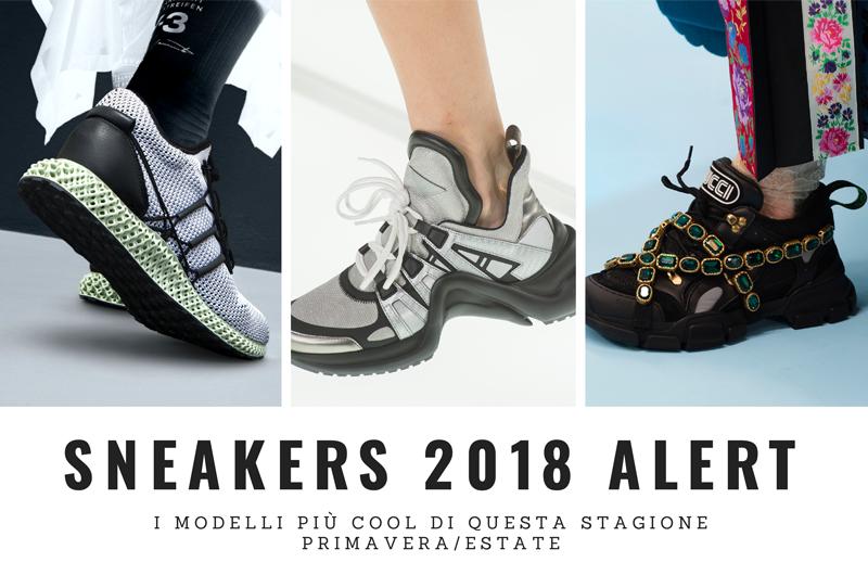 Sneakers 2018: I modelli più cool di questa stagione!