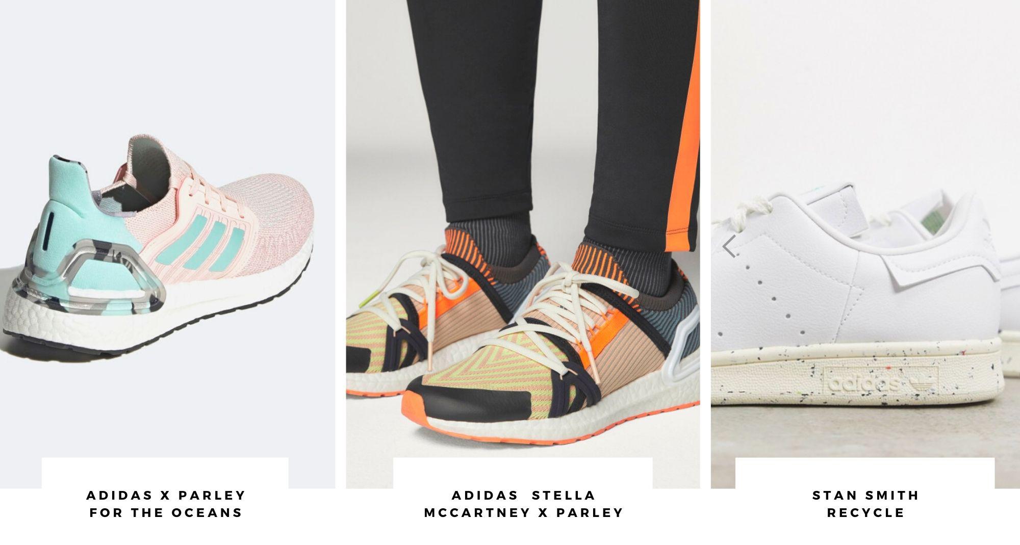 Scarpe sostenibili Adidas