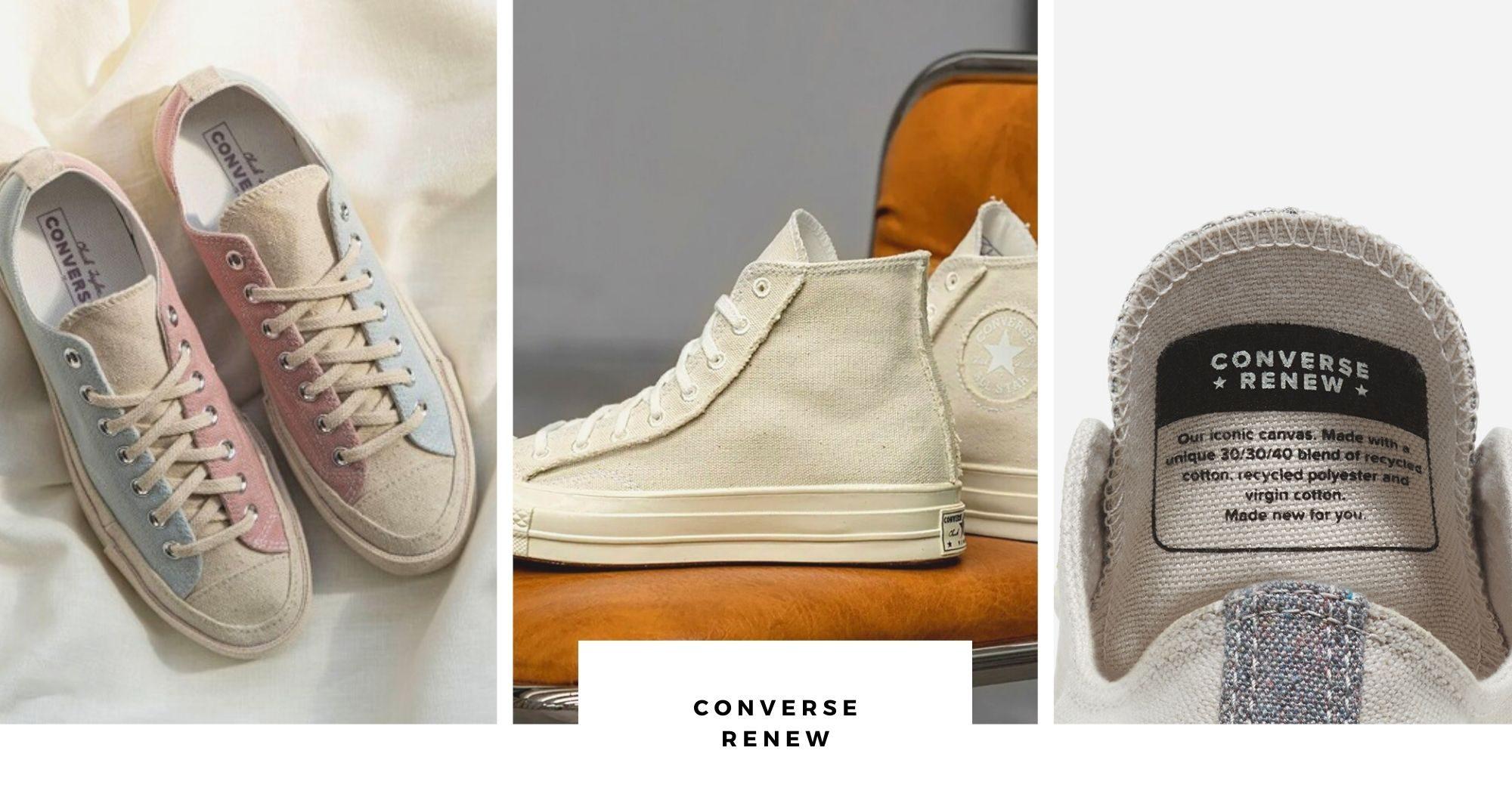 Sneakers sostenibili Converse Renew